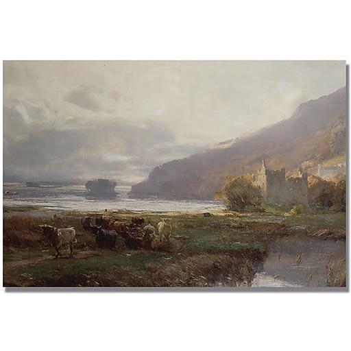 "Trademark Global David Farquharson ""Kilchurn Castle"" Canvas Art, 16"" x 24"""