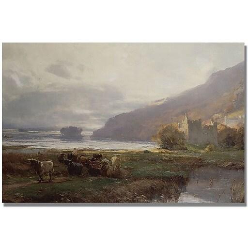 "Trademark Global David Farquharson ""Kilchurn Castle"" Canvas Art, 30"" x 47"""
