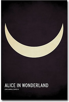 "Trademark Global Christian Jackson ""Alice in Wonderland"" Canvas Art, 24"" x 16"""