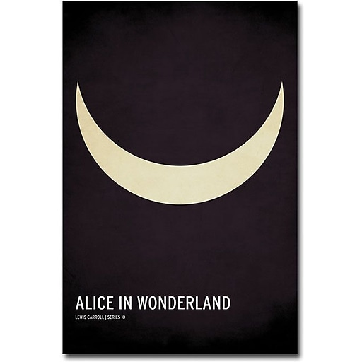 "Trademark Global Christian Jackson ""Alice in Wonderland"" Canvas Art, 47"" x 30"""