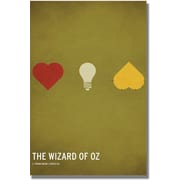 "Trademark Global Christian Jackson ""Wizard of Oz"" Canvas Arts"