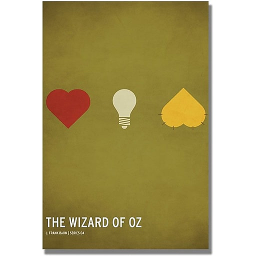"Trademark Global Christian Jackson ""Wizard of Oz"" Canvas Art, 47"" x 30"""