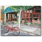 "Trademark Global Colleen Proppe ""Coffee Shop"" Canvas Arts"