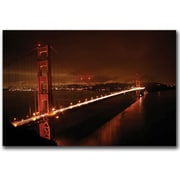 """Trademark Global Colleen Proppe """"Golden Gate I"""" Canvas Art, 16"""" x 24"""""""