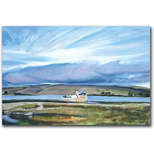 "Trademark Global Colleen Proppe ""Inverness Sky"" Canvas Art, 14"" x 19"""