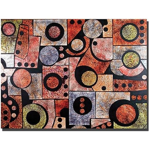 "Trademark Global Garner Lewis ""Dimensions"" Canvas Art, 18"" x 24"""