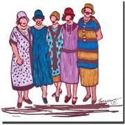 "Trademark Global Garner Lewis ""The Reunion"" Canvas Art, 24"" x 24"""