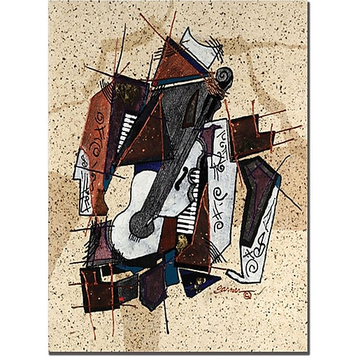 "Trademark Global Garner Lewis ""The Mix"" Canvas Art, 19"" x 14"""