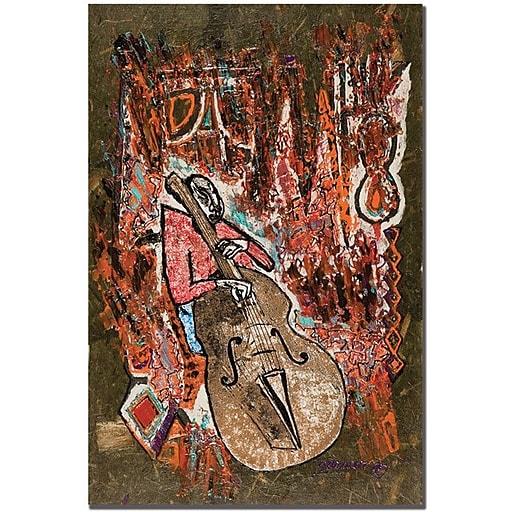 "Trademark Global Garner Lewis ""Rythm"" Canvas Art, 24"" x 16"""