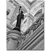 "Trademark Global Gregory Ohanlon ""Library of Congress- Great Hall"" Canvas Art, 35"" x 47"""