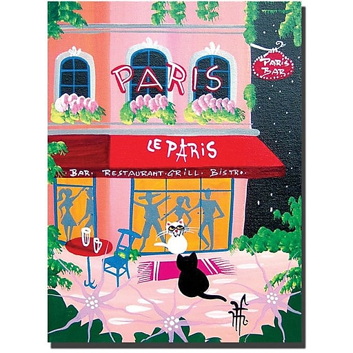 "Trademark Global Herbert Hofer ""Le Paris"" Canvas Art, 32"" x 24"""