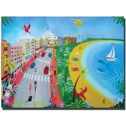 "Trademark Global Herbert Hofer ""Ocean Drive"" Canvas Art, 24"" x 32"""