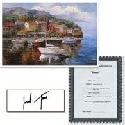 "Trademark Global Joval ""Boats"" Canvas Art, 24"" x 32"""