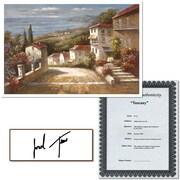 "Trademark Global Joval ""Tuscany"" Canvas Art, 24"" x 32"""