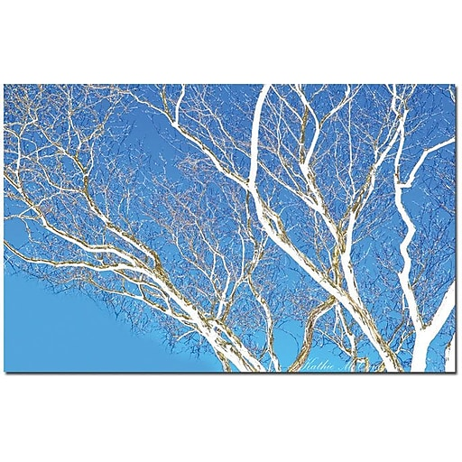 "Trademark Global Kathie McCurdy ""Spring Tree"" Canvas Art, 30"" x 47"""