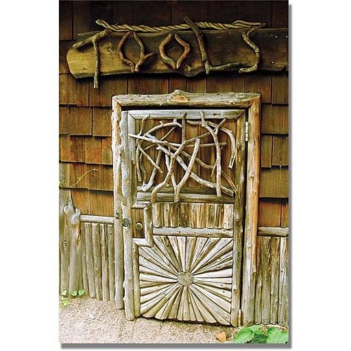 """Trademark Global Kathie McCurdy """"Tool Shed"""" Canvas Art, 47"""" x 30"""""""
