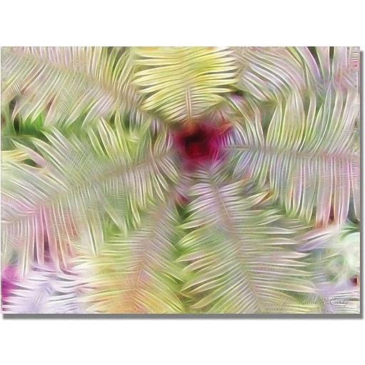 "Trademark Global Kathie McCurdy ""Fern Center"" Canvas Art, 35"" x 47"""