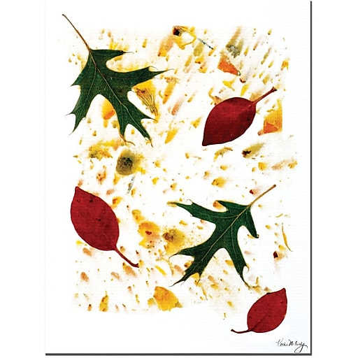 """Trademark Global Kathie McCurdy """"Summer to Fall"""" Canvas Art, 24"""" x 18"""""""
