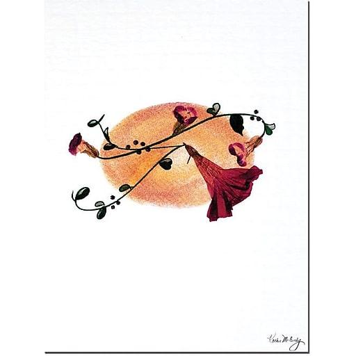"Trademark Global Kathie McCurdy ""Harvest Moon"" Canvas Art, 24"" x 18"""