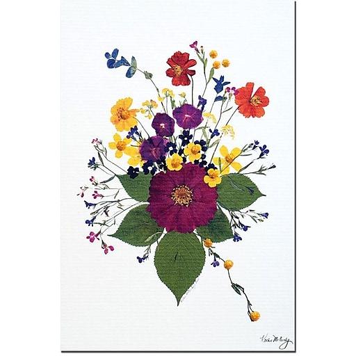 "Trademark Global Kathie McCurdy ""Enchanted Garden"" Canvas Art, 19"" x 14"""