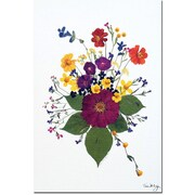 "Trademark Global Kathie McCurdy ""Enchanted Garden"" Canvas Art, 47"" x 30"""