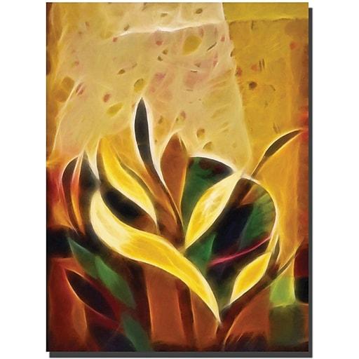 """Trademark Global Adam Kadmos """"Sprout"""" Canvas Art, 24"""" x 18"""""""