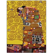 "Trademark Global Gustav Klimt ""Fufillment"" Canvas Art, 18"" x 24"""