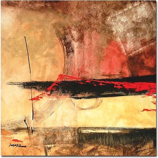 "Trademark Global Joarez ""Dominate"" Canvas Art, 35"" x 35"""