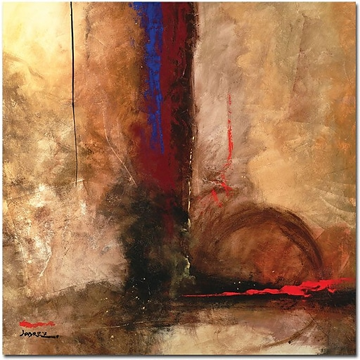 "Trademark Global Joarez ""La Furia"" Canvas Art, 24"" x 24"""