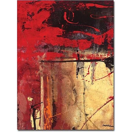 """Trademark Global Joarez """"Victory III"""" Canvas Art, 47"""" x 35"""""""