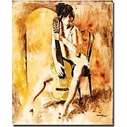 "Trademark Global Joarez ""Love Song"" Canvas Art, 32"" x 26"""