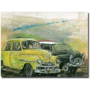 "Trademark Global Alberto ""A Morning in Havana"" Canvas Art, 35"" x 47"""