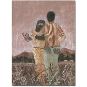 "Trademark Global Gustavo ""Solo Los Dos"" Canvas Art, 47"" x 35"""