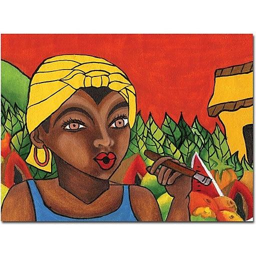 "Trademark Global Yonel ""Habanera I"" Canvas Art, 35"" x 47"""