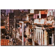 "Trademark Global ""El Vecindario"" Canvas Art, 16"" x 24"""
