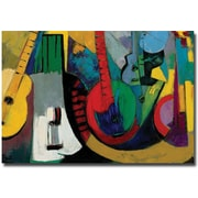 "Trademark Global Boyer ""Strings"" Canvas Art, 30"" x 47"""