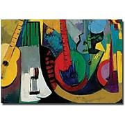 "Trademark Global Boyer ""Strings"" Canvas Art, 30"" x 47"""