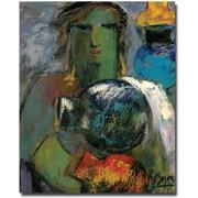 "Trademark Global Boyer ""Portrait with Jugs"" Canvas Arts"