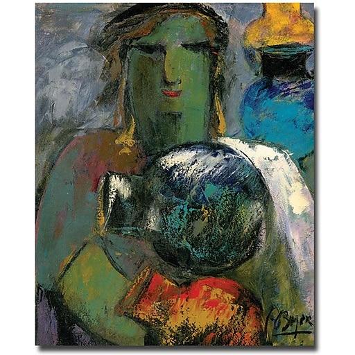 "Trademark Global Boyer ""Portrait with Jugs"" Canvas Art, 32"" x 26"""