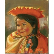 "Trademark Global Jimenez ""Imillita"" Canvas Art, 47"" x 35"""
