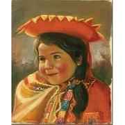 "Trademark Global Jimenez ""Imillita"" Canvas Art, 24"" x 18"""
