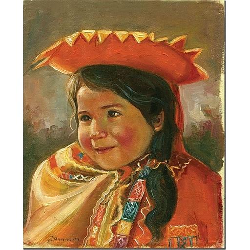 "Trademark Global Jimenez ""Imillita"" Canvas Art, 47"" x 35"""