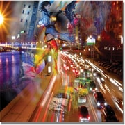 "Trademark Global ""Traffic"" Canvas Art, 35"" x 35"""