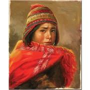 "Trademark Global Jimenez ""Dia de Trabajo"" Canvas Arts"