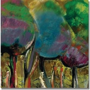 "Trademark Global Boyer ""Enchanted Forest"" Canvas Art, 18"" x 18"""