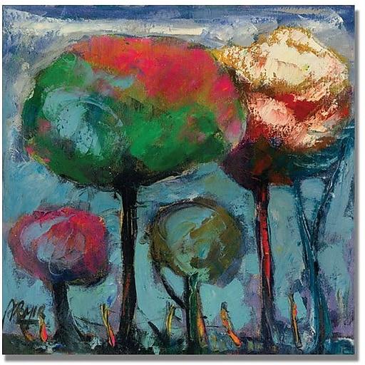 """Trademark Global Boyer """"Niebla de Colores"""" Canvas Art, 24"""" x 24"""""""