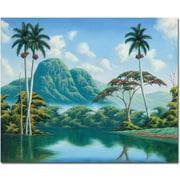 "Trademark Global Douglas ""Claridad"" Canvas Art, 26"" x 32"""