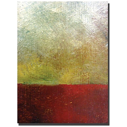 "Trademark Global Michelle Calkins ""Earth Study I"" Canvas Art, 32"" x 24"""