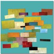"Trademark Global Michelle Calkins ""Scrambled Eggs I"" Canvas Art, 24"" x 24"""