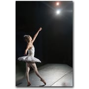"Trademark Global Miguel Paredes ""Ballerina"" Canvas Art, 24"" x 16"""
